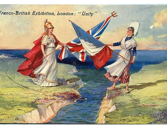 Postcard from Franco-British Exhibition 1908
