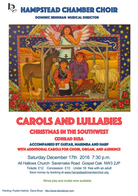 Hampstead Chamber Choir: Carols and Lullabies